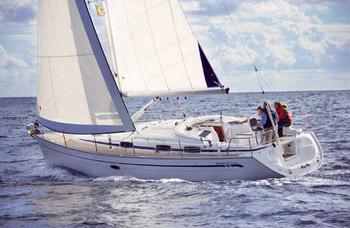 Flottielje zeilen Ibiza