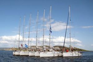 flottielje zeilen Griekenland